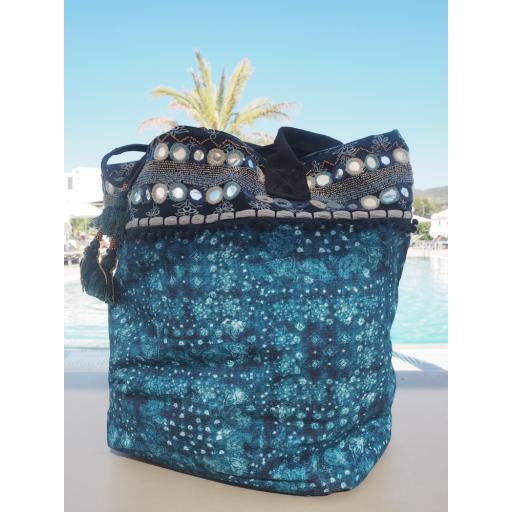 Navy Olympia bag