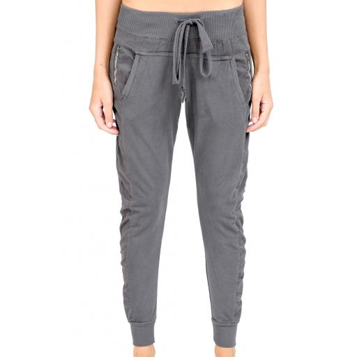 Winter grey Star Joggers